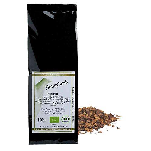 Tee Honeybusch Honigbuschtee Vegan BARRIQUE-Feine Manufaktur Südafrika Südafrika 100g-Pack BIO