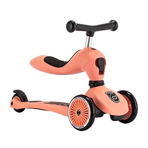 [ スクート&ライド ] Scoot&Ride キッズスクーター ハイウェイキック1 キックボード 三輪車 2way 96353 ピーチ Highwaykick1 Peach [並行輸入品]