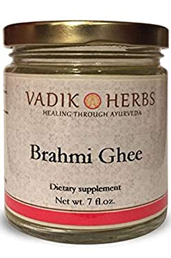 Brahmi Ghee (Herbal ghee) by Vadik Herbs   Premium potency herb in a natural, fresh ghee base ~ Made in the USA every week