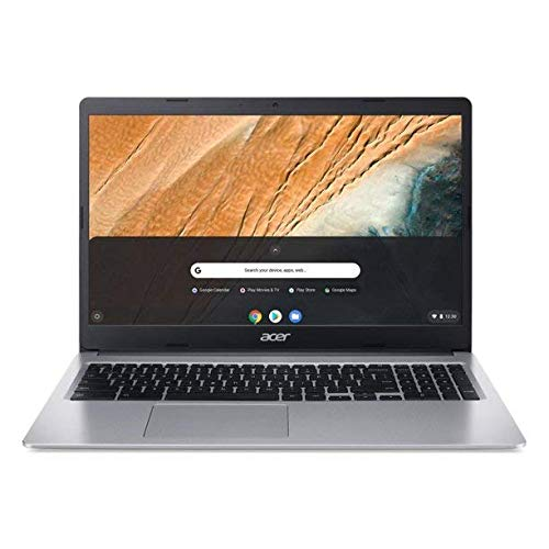 """2021 Newest Acer Chromebook 315 15.6"""" HD Laptop Intel Celeron N4000 Dual Core Intel UHD Graphics 600 4GB DDR4 32GB eMMC USB Typc-C WiFi Upto 12 Hour Battery Protective Sleeve w/ RE 32GB Micro SD Card"""