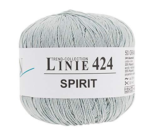 ONline Wolle Spirit, 4-fädig, 50g, ca. 210m Silber, Farbe 11
