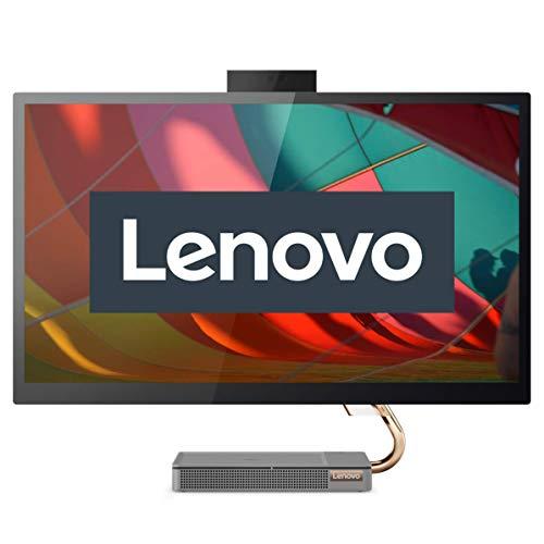 Lenovo IdeaCentre AIO A540 68,58 cm (27 Zoll, 2560x1440, WQHD, WideView) All-in-One Desktop-PC (Intel Core i5-9400T, 8GB RAM, 512GB SSD, AMD Radeon RX 560X, Wifi, Windows 10 Home) grau