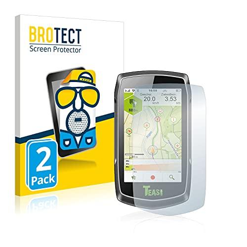 BROTECT 2X Entspiegelungs-Schutzfolie kompatibel mit A-Rival Teasi One3 Bildschirmschutz-Folie Matt, Anti-Reflex, Anti-Fingerprint