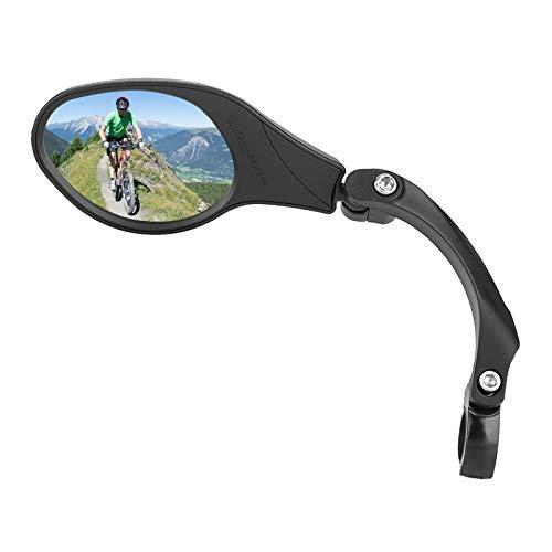 Specchi bici, 1 pz Specchietto retrovisore bici Specchio retrovisore manubrio regolabile per bici da strada Mountain Bike Bicicletta elettrica(Left)
