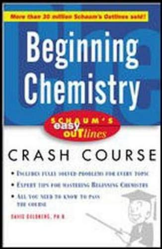 Schaum's Easy Outline Beginning Chemistry