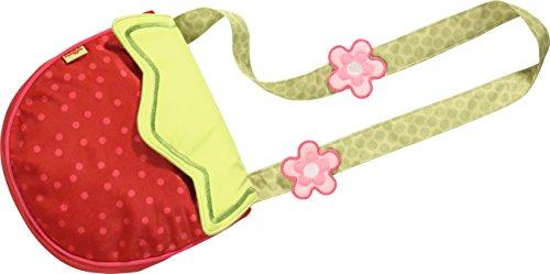 Haba 302608 Sac à bandoulière en polyester pour enfant Motif fraise et fraise