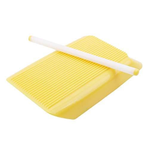 Yesiidor - Moldes de espaguetis antiadherentes para el hogar, pasta, macarrones, utensilios...