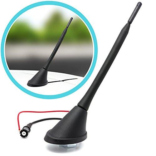 Adapter Universe Raku 2 II Antenne de toit pour voiture avec socle et amplificateur intégré
