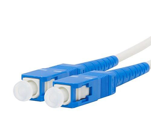 YOU+ 両端SCコネクタ付 宅内光配線コード(光ファイバーケーブル) 曲げに強く耐圧200kg/10cm2 (3m)