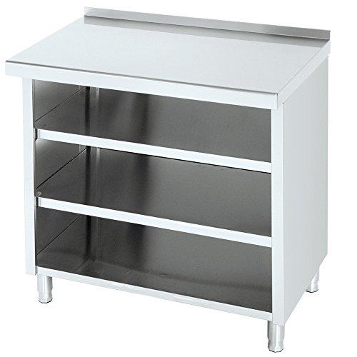 Macfrin 1204 Mueble de 100X60 Estantes Trasbarra
