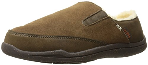 Acorn Crosslander Moc Slipper, Color: Chestnut, Size: 10 (AS1051CHNM10)