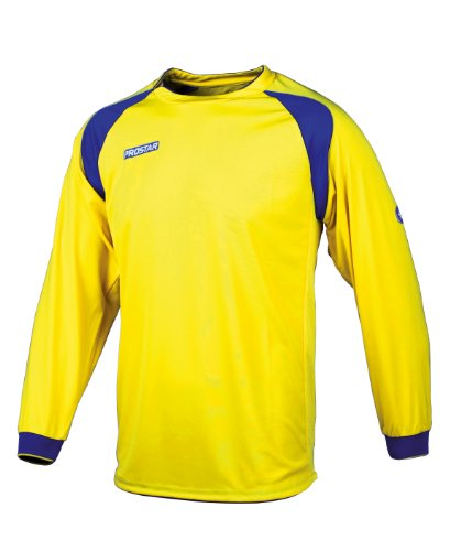 Mitre Prostar Kinder Dynamo Plus Teamwear Trikot, Herren, Yellow/Royal, 66/71 cm