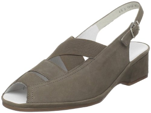 ara Women's Rumor Slingback Sandal,Taupe Nubuk,9 M US