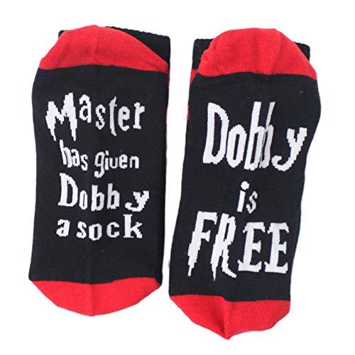 Comtervi dobby frei socken knöchel baumwoll socken meister hat dobby eine socke dobby frei baumwolle socke unisex (one size, light gray-1)