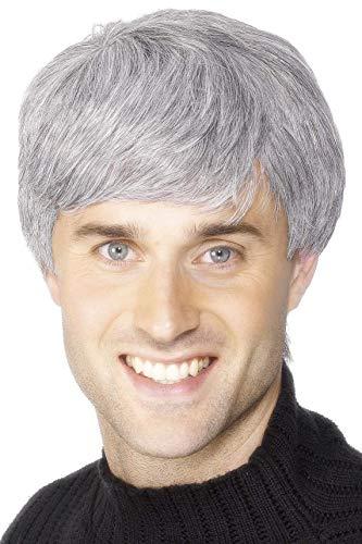 Smiffys Corporate Wig - Grey