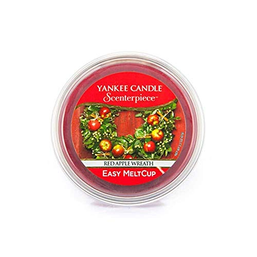 Yankee Candle Easy MeltCup Cialda per Brucia-essenze, Red Apple Wreath