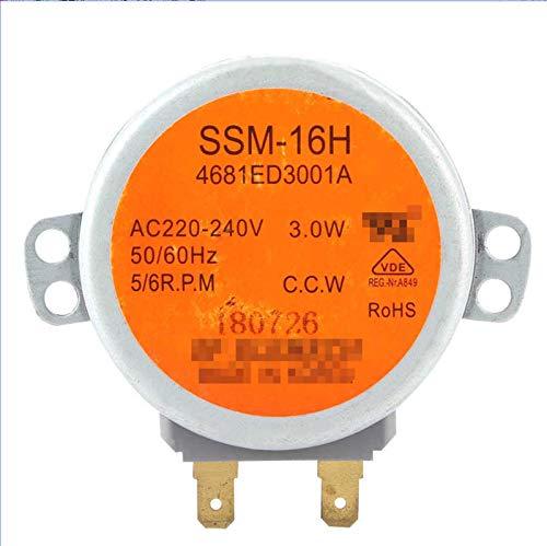 Ymhan AC 220-240V Micro Turnible Motor Sincrónico SSM-16HR Ajuste para LG Microondas Accesorios De Horno Repuestos Piezas