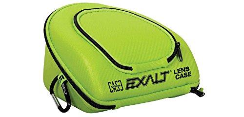 Exalt Paintball Carbon Series Lens Case - Black / Lime by Exalt