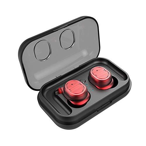 DSAEFG Auricular Bluetooth V5.0 Estéreo Mini Auricular Deportes IPX5 Auriculares In-Ear a...