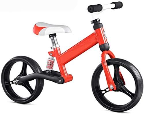 TQJ Kinderwagen 3 in 1 Kinderwagen Balance Bike Lightweight Dämpfung Kind Kein Pedal Kind Schiebereiwagen Geeignet...