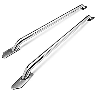 TAC Bed Rails Fit 2014-2020 Chevy Silverado 1500 / GMC Sierra 1500 5.5ft Short Bed T304 Stainless Steel Truck Side Rails Off Road Automotive Exterior Accessories (2 Pieces Bed Rails)