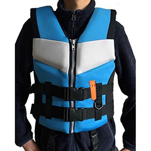GVCT Chaleco Salvavidas para Adultos, Chaleco de flotabilidad Ajustable Multifuncional, Ayuda para Nadar, navegar, navegar, Pesca, Kayak, Chaleco Salvavidas