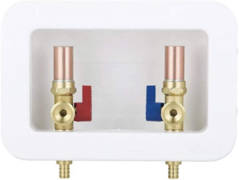 EFIELD specialty shop Washing Machine Outlet Box Brass Center 1 New color with Drain