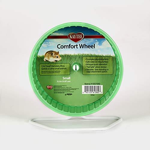 "Kaytee Comfort Exercise Wheel, 5.5"", Multicolor"