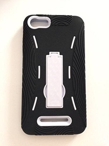 BLU Advance 5.0 Case, Premium Rugged Heavy Duty Drop Proof Case With Kickstand For BLU Advance 5.0 -Black