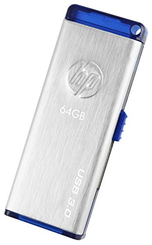 HP x730w 64 GB USB 3.0 Flash Drive (Gray)