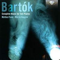 Béla Bartók Musique pour 2 pianos (Intégrale)