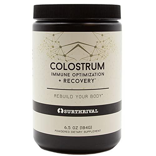 Surthrival: Colostrum Powder (6.5oz), Immune Optimization & Recovery,...