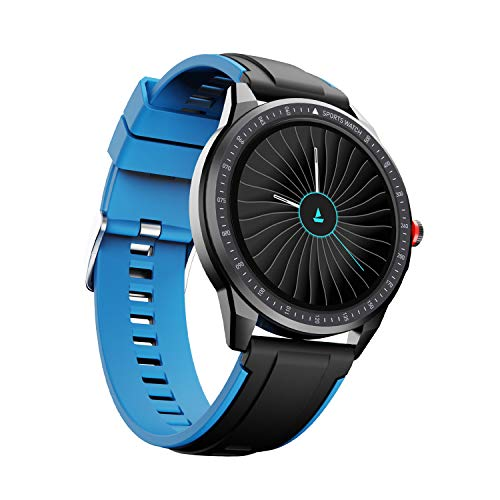 boAt Flash Edition Smartwatch with Activity Tracker,Multiple Sports Modes,Full Touch 1.3″ Screen,Gesture Control,Sleep Monitor,Camera & Music Control,IP68 Dust,Sweat & Splash Resistance(Galaxy Blue)