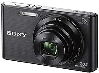 Sony DSC-W830 Cyber-Shot Digital Camera, 0.1 Megapixel, Black