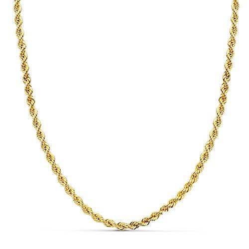 Cordón Salomónico Oro amarillo 18k 50cm 3,5mm