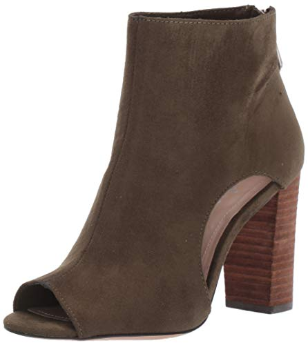 CHARLES BY CHARLES DAVID Women's Fable Pump, Olive, 10 M US
