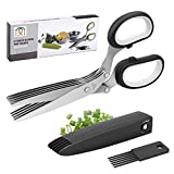 Best new Flower Shears - Joyoldelf Gourmet Herb Scissors Set - Master Culinary Review