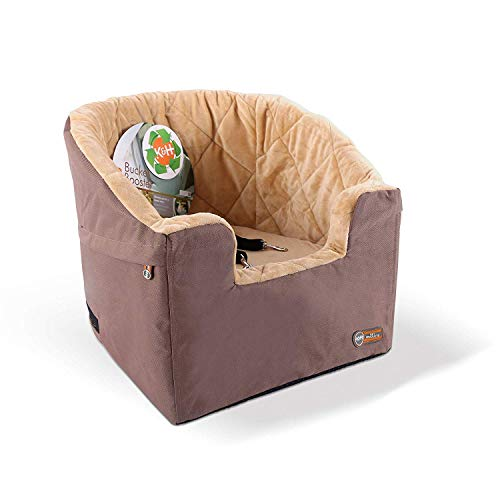 K&H Pet Products Bucket Booster Dog Car Seat Small Tan 14.5' x 20'