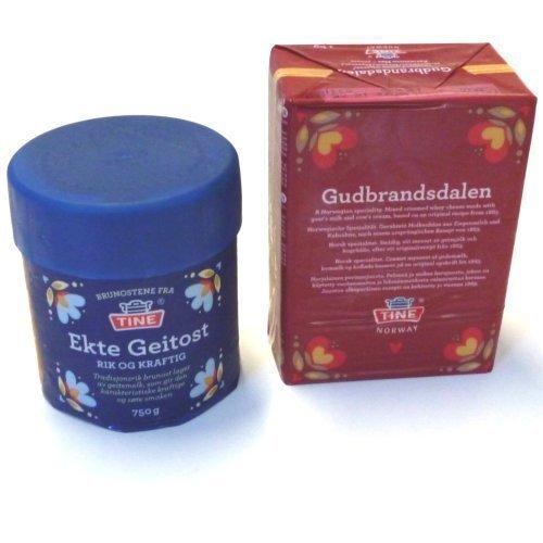 Ects Geitost y Gudbrandsdalen Geitost 1,750 kg noruego queso