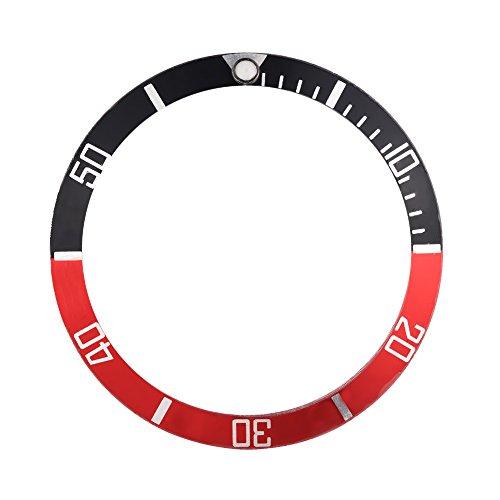 Dilwe 4Colors reloj Bisel material plástico Bisel Insertar bucle reloj Dial pieza...
