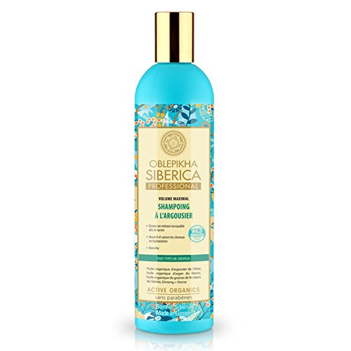 Natura Siberica - Active Organics - Shampooing à l'Argousier Volume Maximal