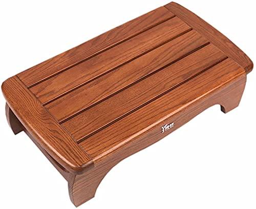 FCPLLTR 12 cm / 15 cm / 20 cm di un alto sgabello di un passo in legno - resistente per il piede ergonomico per la casa, sotto scrivania, gente corta, gonfiore e circolazione (colore: stile-2, dimensi