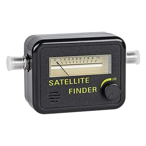 Tv Antenna Signal Strength Meter - Swr Meter - Satellite Finder - Satilite Signal Meter - Satellite Signal Finder Dish Network - Sat Finder - Analog Meter - C Band Lnb - Lnb Ku Band - STEREN