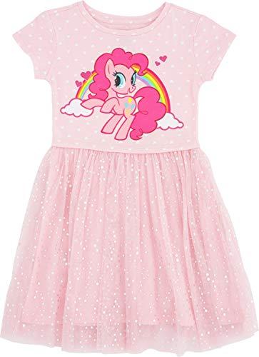 My Little Pony Girls' Little Tulle Costume Dress (6/6X-Small, Light Pink)