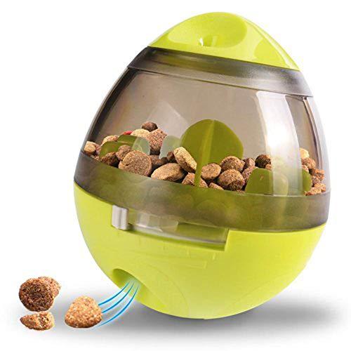 Haustiere Leckerli Ball Hund Katze Welpen IQ interaktiv Futter abgeben Ball IQ Ball Hund Puzzle Spielzeuge für Welpen lustiges Puzzle Essen Ball