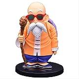 Dragon Ball Z Master Roshi Goku Teacher Gafas De Sol Divertidas Ver.Figura De Acción De PVC DBZ Kam...