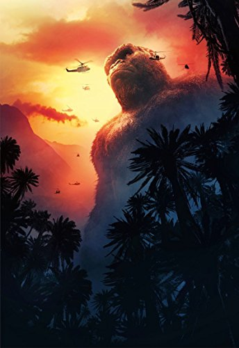 Kirbis Kong Skull Island Movie Poster 18 x 28 Inches