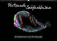 Platzende Seifenblasen - Die Schoenheit einer Millisekunde (Wandkalender 2022 DIN A2 quer): Die Faszination platzender Seifenblasen in 13 beeindrucken Bildern (Monatskalender, 14 Seiten )