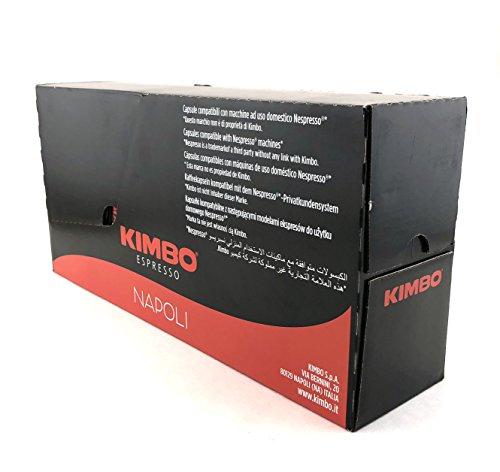 Kimbo Espresso Napoli Nespresso Capsules, 100% Arabica Coffee (Pack of 100 Capsules)