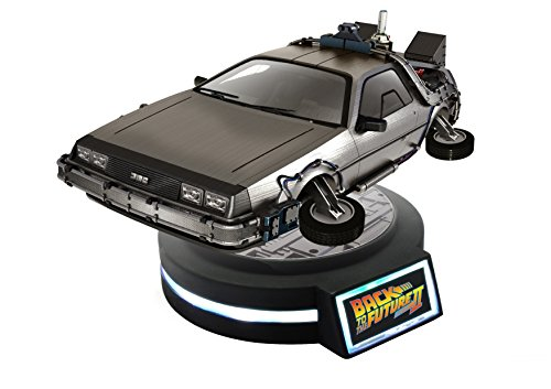 Back to the Future Part II Delorean 1/20 Scale Magnetic Floating Figur